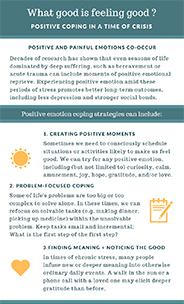 What good is feeling good? infographic
