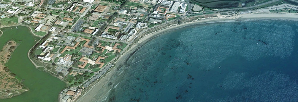Google earth image of ucsb
