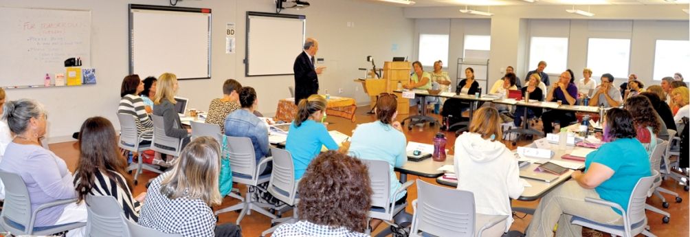 a class during the 2013 Summer Institute