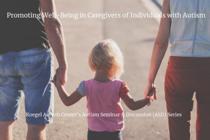 image for May 1 Autism Discussion Series