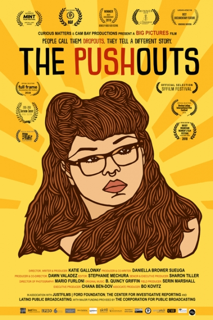 "one sheet for ""The Pushouts"""
