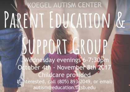 Parent Education Support Group