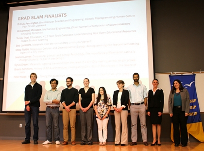 the 2013 Grad Slam finalists