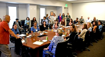 The 2018 Department of Counseling, Clinical, and School Psychology New Student Orientation