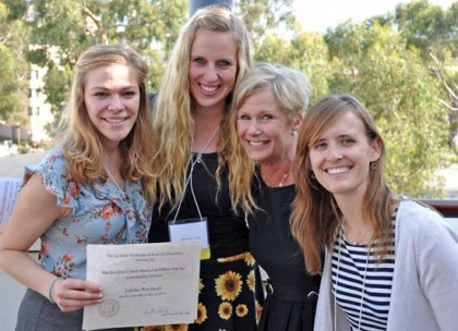 the 2014 Marika Ann Critelli Fellowship awardees