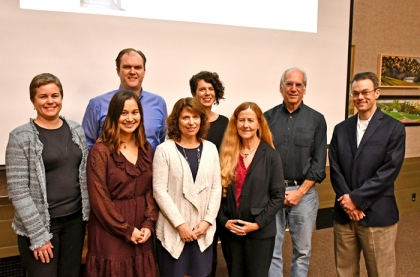 presenters at November 2018 Fast & Curious evening