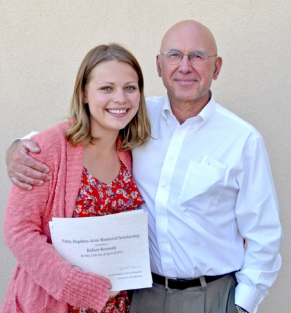 Kelsee Kennedy with Jim Hopkins-Acos