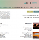 ABCT Convention website screen capture