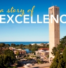 Photo of Storke Tower with the words A Story of Excellence