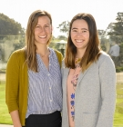 Rrecipients of the 2020 Martha Aldridge Promise Award Michelle Van Riper and Amanda Barrett