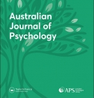 cover of Australian Journal of Psychology