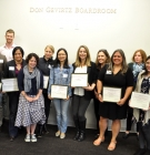 2017-18 Department of Education fellowship award winners and their advisors
