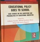 cover of Education Policy Goes to School