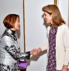 Hsiu-Zu Ho and US Ambassador to Japan Caroline Kennedy