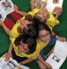 students at the McEnroe Reading Clinic