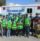 Andrew Maul and Yesenia Limon with CERT training crew