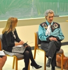 Amber Moran, Lynn Koegel, and Temple Grandin