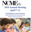 NCME 2016 conference logo