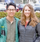 Daniel Choi and Emily Carver