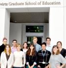 Teacher Education Program students who will be studying internationally