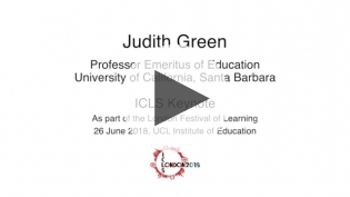 "Dr. Judith Green, ""Developing Ethnographic Eyes"""
