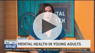 "Erika Felix, ""Mental Health in Young Adults"" on Spectrum News 1 (pt 2)"