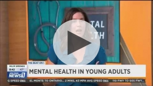 "Erika Felix, ""Mental Health in Young Adults"" on Spectrum News 1 (pt 1)"